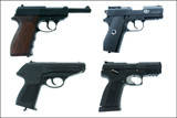 Пневматические пистолеты, автоматы