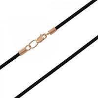 Каучуковый  шнурок с золотом 1.21, 108653
