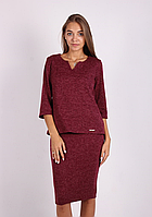 Стильная женская блуза свободного покроя