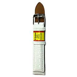 Белый ремешок Modeno 12-30 мм