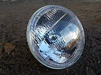 Передние фары на ВАЗ 2101 Ангельскими глазками белого цвета №2  .