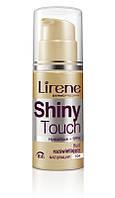 Тональный флюид Shiny Touch сияющий тоффи, 30мл, Lirene, фото 1