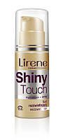 Тональный флюид Shiny Touch сияющий бежевый, 30мл, Lirene, фото 1