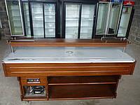 Салат-бар охлаждаемый Tecfrigo Brina 6 M. б/у, витрина холодильная б у.