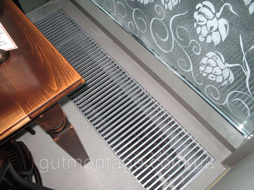Решётка декоративная 306х2250мм дюралюминивая