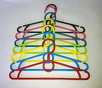 Плечики -вешалки детские цветные 32 см