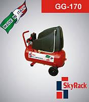 GG-170 Компресор поршневий з прямим приводом (220 В, ресивер 100 л)