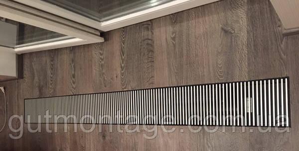 Решётка декоративная 390х3000мм дюралюминивая