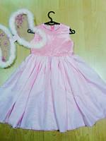Платье нарядное нежно-розового цвета