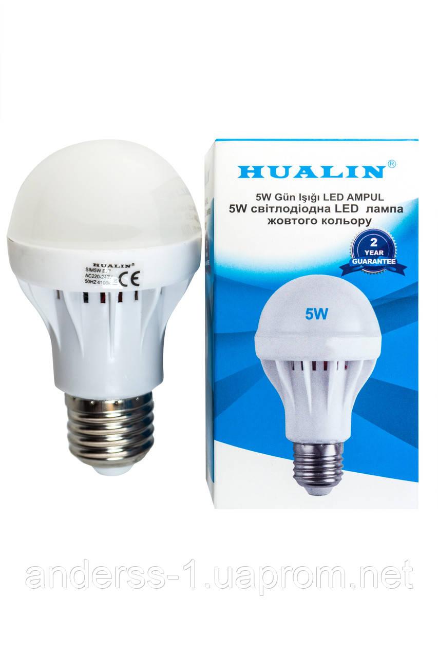 Led лампа HUALIN 5W E27 6400K