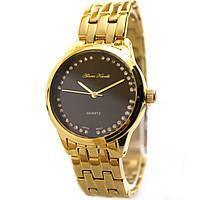 Женские позолоченные часы от Alberto Kavalli со стразами