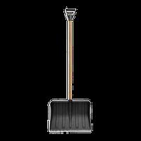 Лопата для снега пластиковая с V-образной ручкой (70-886)