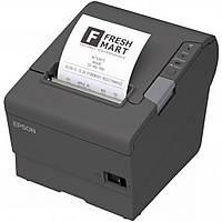 Принтер чеков EPSON TM-T88V USB+COM, EDG (C31CA85042)