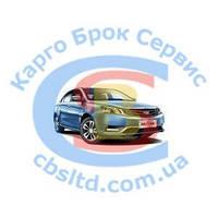 1068001658 Направляющая переднего бампера левая EMG EC-7/EC7 RV (Оригинал) Geely Эмгранд ЕС7 Sedan/Hatchback