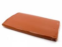 Полімерна глина (термопластика) 250 г 3218 коричнева