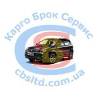 Решетка противотуманной фары L 1018006113 Geely MK Cross (лицензия)