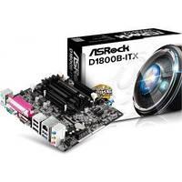 Материнская плата ASROCK MiniITX Celeron J1800 (2.4GHz) D1800B-ITX