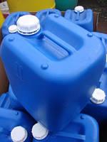 Канистра 20 литров пластиковая б/у (пищевая)