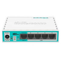 Маршрутизатор MIKROTIK RouterBOARD RB750UPr2 hEX PoE lite (650MHz/64Mb, 1xUSB, 5х100Мбит, PoE in, Po