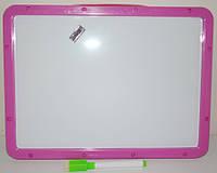 Доска для рисования А4 магнитно-маркерная с алфавитом