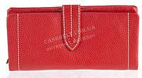 Качественный женский кожаный кошелек с мягкой кожи SALFEITE art. 12250 красный