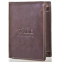 Портмоне для документов и денег Always Wild DNKN890-MHU-brown коричневое