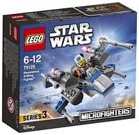 Конструктор LEGO серия Star Wars X-wing истребитель Сопротивления 75125