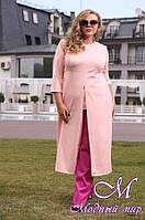Женский стильный осенний костюм большого размера (р.48-72) арт. Вирджиния
