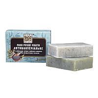 Антибактериальное мыло с маслом чайного дерева и бело-голубой глиной