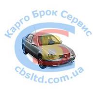 Кронштейн бампера переднего левый (метал) 1801430180 Geely CK (оригинал)