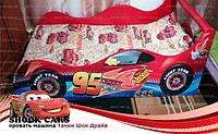 Кровать машина ТАЧКИ Шок Драйв для мальчика купить http://кровать-машина.com.ua/ БЕСПЛАТНАЯ ДОСТАВКА! Мебель АВТО ТАЧКИ с машинками под заказ!