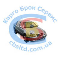 Колодки тормозные передние 3501190005 Geely CK с ABS (лицензия)