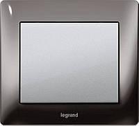 Выключатели и розетки Legrand Galea Life Metal Black Nickel