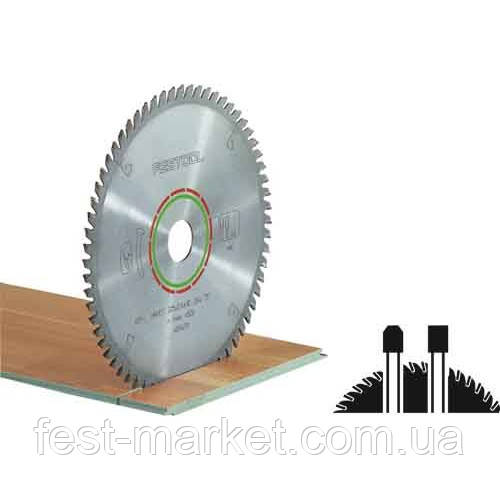Специальный пильный диск 260x2,5x30 WZ/FA64 Festool 494606