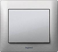 Выключатели и розетки Legrand Galea Life Metal Brushed Aluminium