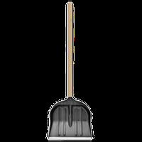 Лопата для уборки снега пластиковая с черенком (70-884)