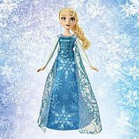 Кукла Холодное сердце Поющая Эльза свет, звук на русском Disney Frozen Elsa Hasbro