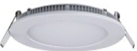 Светильник встроенный LED-PANEL-18WR dia.225mm aluminium 2835smd 90шт 1260Lm IP20