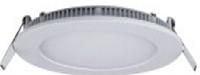 Светильник встроенный LED-PANEL-12WR dia.172mm aluminium 2835smd 60шт 960Lm IP20
