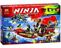 "Конструктор ниндзяго Ninja ""Корабль ""Дар Судьбы"". Решающая битва"" (аналог лего 70738) 1265 деталей, фото 1"