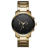 Часы мужские MVMT  CHRONO BLACK/GOLD