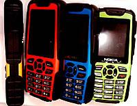 В наличии! Противоударный водонепроницаемый мобильный телефон Nokia М8 Duos (2 сим карты)