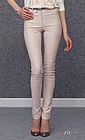 Женские молодежные узкие брюки розового цвета. Модель Justine Zaps.