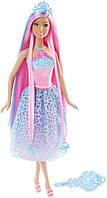 """Кукла Barbie """"Бесконечные волосы"""", Barbie Endless Hair Kingdom Princess Doll, Blue"""