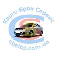 Накладка решетки радиатора правая (хром) 1018002990 Geely MK (оригинал)