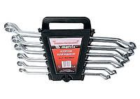 Набор ключей накидных, 6–22 мм, CR-V, 8 шт., полированный хром MATRIX (MTX) 153329