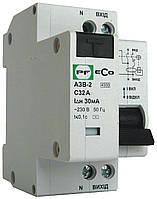 Автоматический выключатель защитного отключения ECO АЗВ-2 2р С25А 30мА
