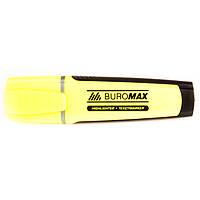 Флуоресцентный текст - маркер  Вuromax желтый