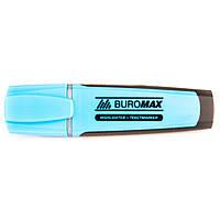 Текстовый маркер флуоресцентный Buromax синий
