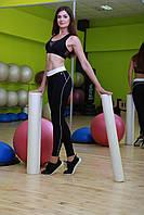 Классические лосины, леггинсы для занятия фитнесом Белый